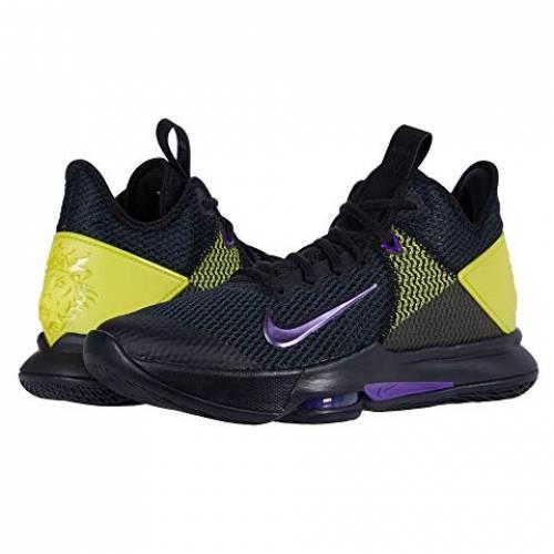 ナイキ NIKE レブロン メンズ 【 Lebron Witness Iv 】 Black/voltage Purple/opti Yellow/white