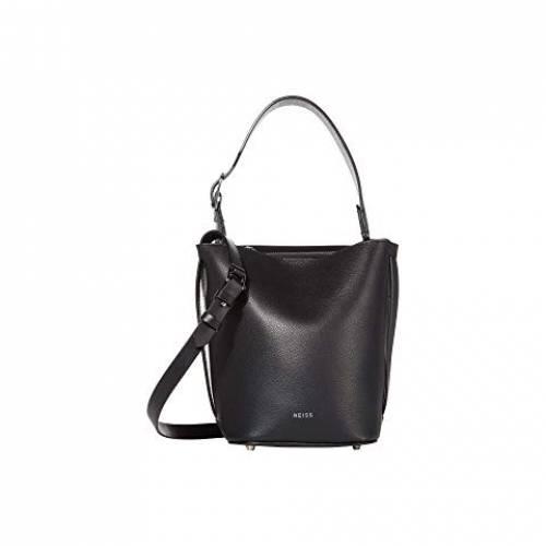 REISS バッグ レディース 【 Hudson Mini Bucket Bag 】 Black