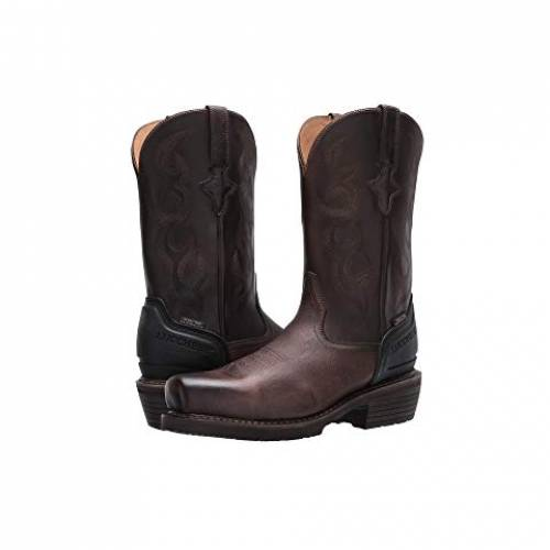 """LUCCHESE ブーツ 銀色 スチール 12"""" & スニーカー 【 WELTED WESTERN WORK BOOT STEEL TOE WATERPROOF STONE 】 メンズ 送料無料"""