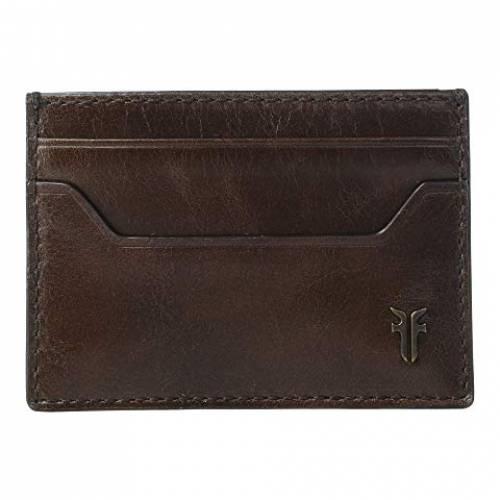 FRYE ケース バッグ ユニセックス 【 Austin Card Case 】 Dark Brown