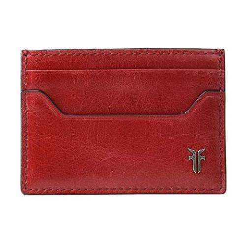 FRYE ケース バッグ ユニセックス 【 Austin Card Case 】 Red