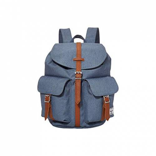 HERSCHEL SUPPLY CO. バッグ ユニセックス 【 Dawson Small 】 Blue Mirage Crosshatch
