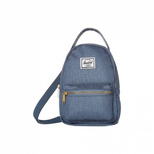 HERSCHEL SUPPLY CO. バッグ ユニセックス 【 Nova Crossbody 】 Blue Mirage Crosshatch