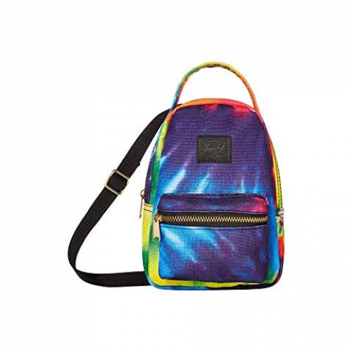 HERSCHEL SUPPLY CO. バッグ ユニセックス 【 Nova Crossbody 】 Rainbow Tie-dye