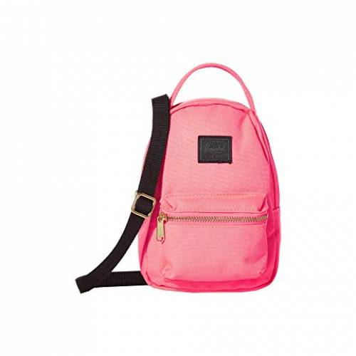 HERSCHEL SUPPLY CO. バッグ ユニセックス 【 Nova Crossbody 】 Neon Pink/black