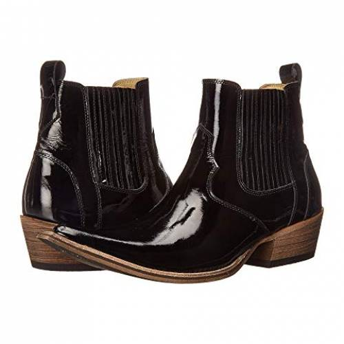 MASSIMO MATTEO ブーツ スニーカー メンズ 【 El Padrino Pointy Toe Boot 】 Black Patent Leather