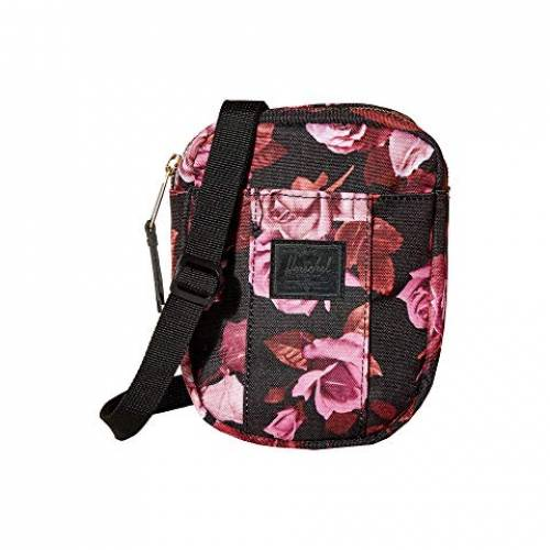 HERSCHEL SUPPLY CO. バッグ ユニセックス 【 Cruz 】 Roses Black