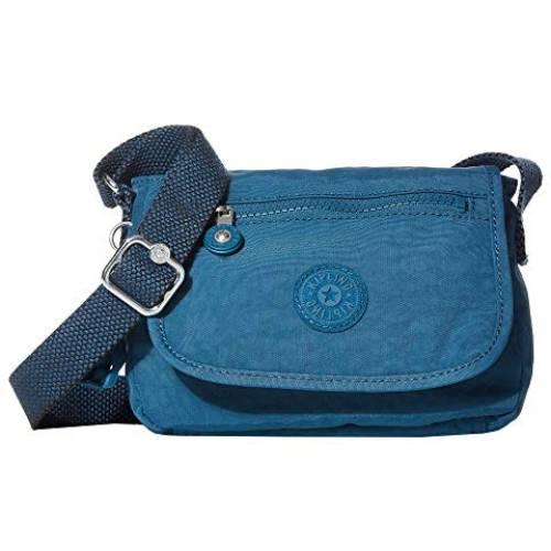 KIPLING バッグ レディース 【 Sabian Crossbody Mini Bag 】 Mystic Blue