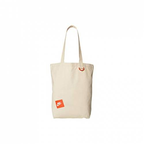 ナイキ NIKE バッグ ユニセックス 【 Heritage Tote 】 Natural/team Orange/white