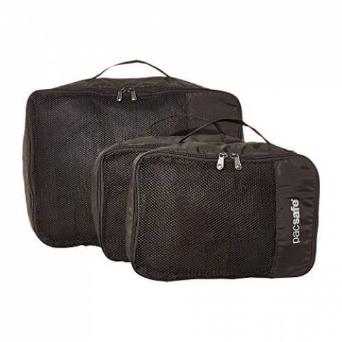 PACSAFE バッグ ユニセックス 【 Travel Packing Cubes 】 Black