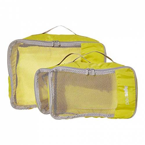 PACSAFE バッグ ユニセックス 【 Travel Packing Cubes 】 Citronelle