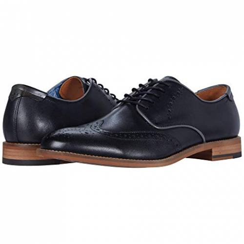 JOHNSTON & MURPHY 黒 ブラック & スニーカー 【 BLACK JOHNSTON MURPHY MILLIKEN WING TIP FULL GRAIN 】 メンズ スニーカー