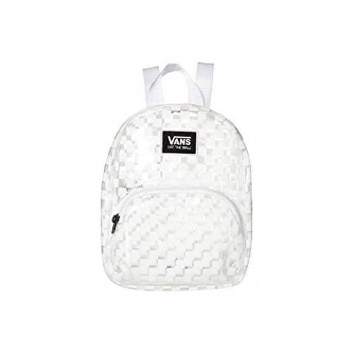 バンズ VANS バックパック バッグ リュックサック レディース 【 Gettin It Mini Backpack 】 White/checkerboard