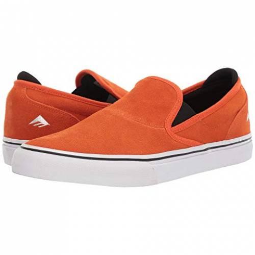 EMERICA イメリカ スリッポン 橙 オレンジ スニーカーSLIPON ORANGE EMERICA WINO G6 X BRONSONメンズ スニーカーb6yvIYmfg7