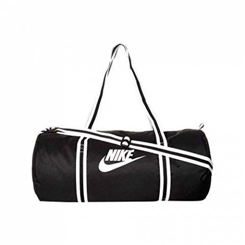 ナイキ NIKE ダッフル バッグ ユニセックス 【 Heritage Duffel Bag 】 Black/black/white