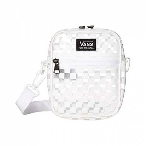 バンズ VANS ストリート バッグ レディース 【 Street Ready Clear Crossbody 】 White/checkerboard
