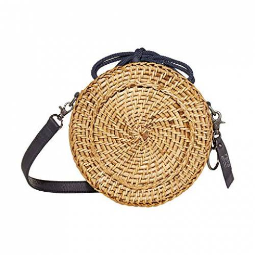 FRYE AND CO. バッグ レディース 【 Esme Straw Canteen Bag 】 Navy