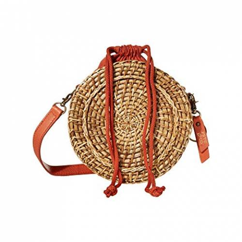 FRYE AND CO. バッグ レディース 【 Esme Straw Canteen Bag 】 Paprika