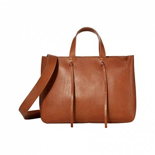 MADEWELL バッグ レディース 【 The Elsewhere Tie Crossbody Tote 】 Burnished Caramel