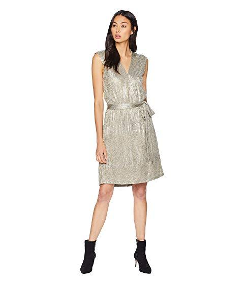 ビショップアンドヤング BISHOP + YOUNG ドレス + 【 BISHOP YOUNG OLIVIA METALLIC MINI DRESS 】 レディースファッション ワンピース