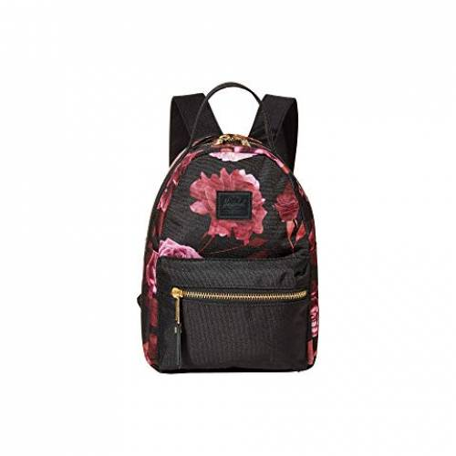 HERSCHEL SUPPLY CO. バッグ ユニセックス 【 Nova Mini 】 Roses Black