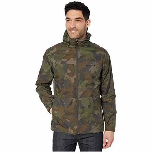 コロンビア COLUMBIA Mountain・・ メンズファッション コート ジャケット メンズ 【 Roan Mountain・・ Jacket 】 Olive Green/cloudy Clouds Print