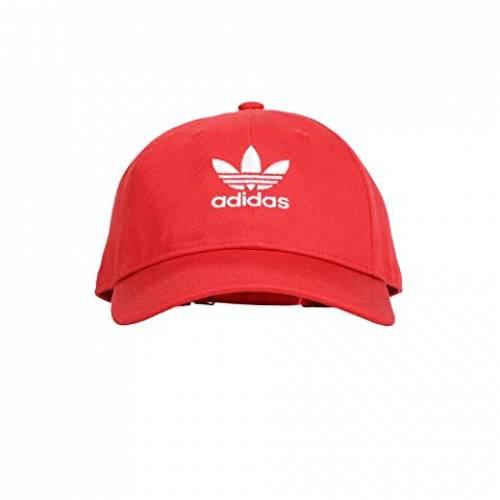 アディダスオリジナルス ADIDAS ORIGINALS バッグ キャップ 帽子 メンズキャップ メンズ 【 Originals Relaxed Strapback Hat 】 Lush Red/white