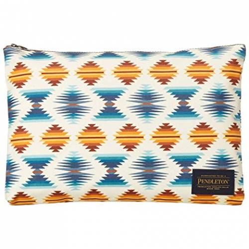 PENDLETON バッグ レディース 【 Canopy Canvas Big Zip Pouch 】 Falcon Cove Sunset