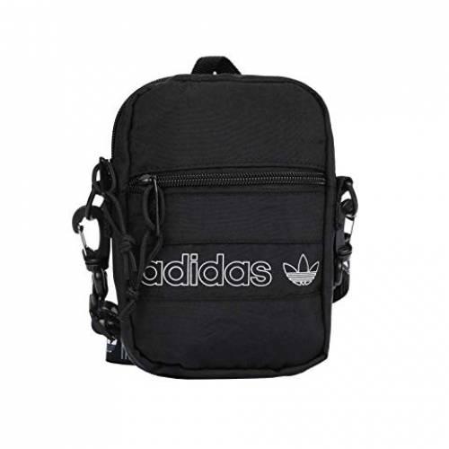 アディダスオリジナルス ADIDAS ORIGINALS バッグ ユニセックス 【 Originals Festival Bag Crossbody 】 Black/white/black