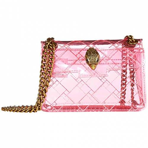 KURT GEIGER LONDON バッグ レディース 【 Transparent Mini Kensington 】 Pink