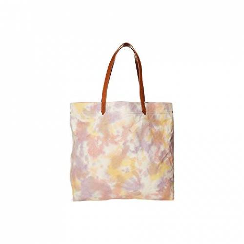 MADEWELL バッグ レディース 【 Printed Canvas Transport Tote 】 Lighthouse Multi