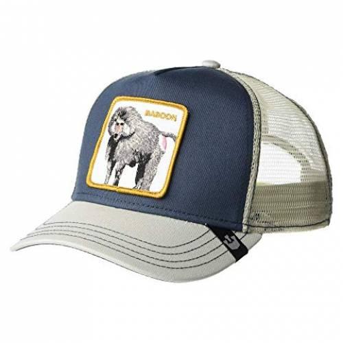 GOORIN BROTHERS トラッカー バッグ キャップ 帽子 メンズキャップ メンズ 【 Animal Farm Snap Back Trucker Hat 】 Blue Butthead