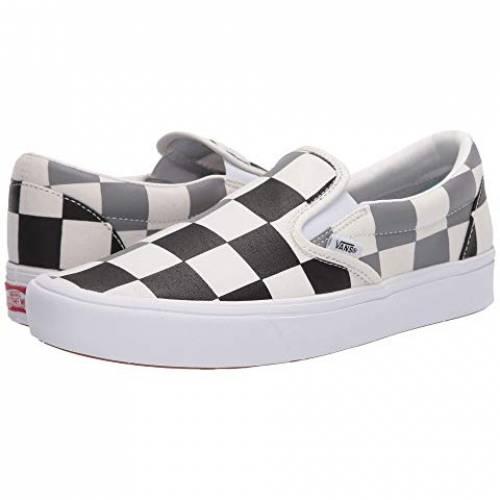 バンズ VANS スリッポン スニーカー メンズ ユニセックス 【 Comfycush Slip-on 】 (half Big Checker) Black/frost Gray