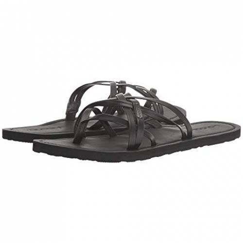 VOLCOM ストラップ レディース 【 Strap Happy Sandals 】 Black Out