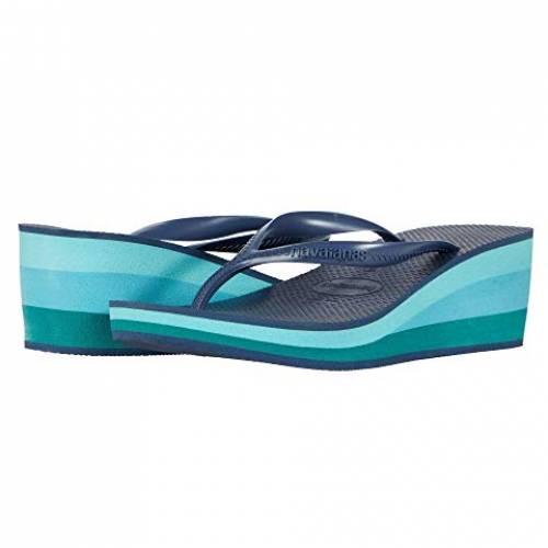 HAVAIANAS ハイ レディース 【 High Fashion Flip Flops 】 Indigo Blue