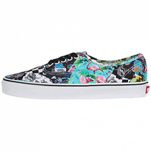 バンズ VANS バンズ 白 ホワイト AUTHENTIC・・VANS WHITE MASH UP MULTI FLORAL TRUEメンズoeBrdCx