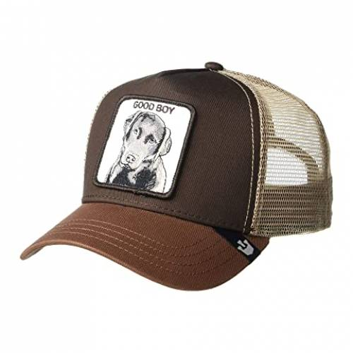 GOORIN BROTHERS トラッカー バッグ キャップ 帽子 メンズキャップ メンズ 【 Animal Farm Snap Back Trucker Hat 】 Brown Sweet Chocolate