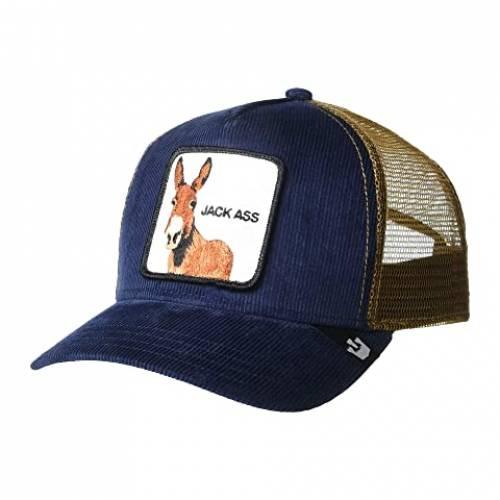 GOORIN BROTHERS トラッカー バッグ キャップ 帽子 メンズキャップ メンズ 【 Animal Farm Snap Back Trucker Hat 】 Navy Hee Haaaw
