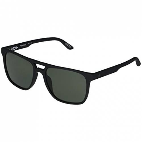 SPY OPTIC バッグ 眼鏡 ユニセックス 【 Czar 】 Soft Matte Black/hd Plus Gray Green Polar