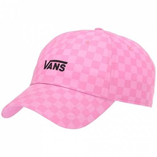 バンズ VANS カウント バッグ キャップ 帽子 レディースキャップ レディース 【 Court Side Printed Hat 】 Fuchsia/pink/checkerboard