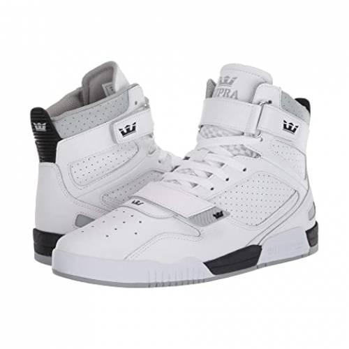 SUPRA スニーカー メンズ 【 Breaker 】 White/black/white