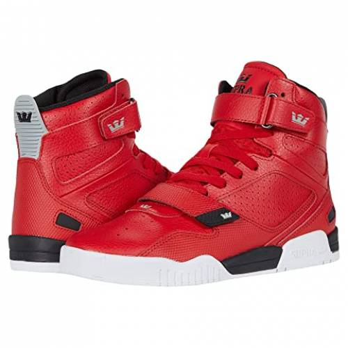 SUPRA スニーカー メンズ 【 Breaker 】 Red/black/white