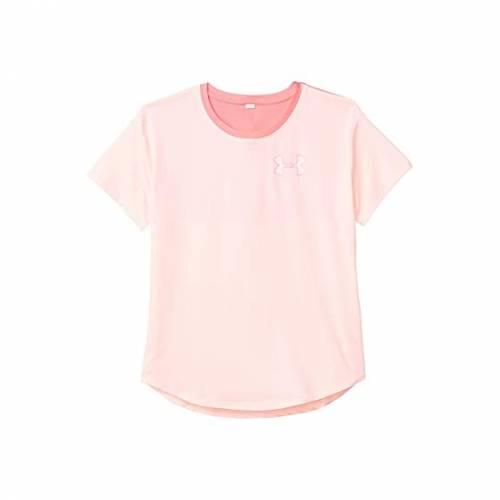 アンダーアーマー キッズ UNDER ARMOUR KIDS スリーブ Heatgear・・ キッズ ベビー マタニティ トップス Tシャツ ジュニア 【 Armour Heatgear・・ Short Sleeve (big Kids) 】 Peach Frost/eclectic Pink