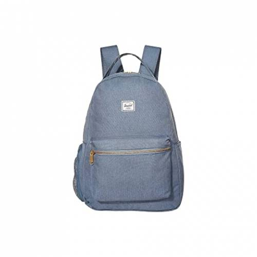HERSCHEL SUPPLY CO. KIDS バックパック バッグ リュックサック ユニセックス 【 Nova Sprout Diaper Backpack 】 Blue Mirage Crosshatch