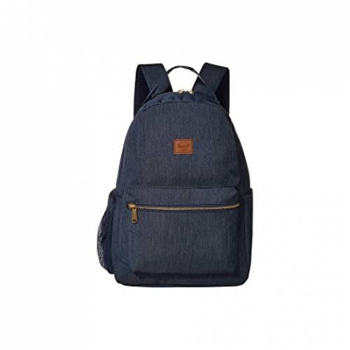 HERSCHEL SUPPLY CO. KIDS バックパック バッグ リュックサック ユニセックス 【 Nova Sprout Diaper Backpack 】 Indigo Denim Crosshatch