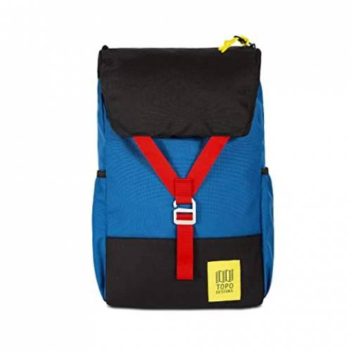 TOPO DESIGNS バッグ ユニセックス 【 Y-pack 】 Blue/black