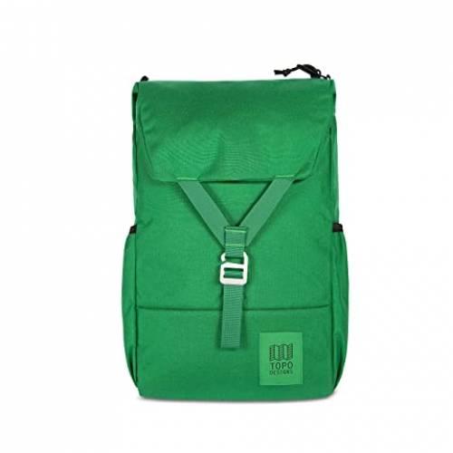 TOPO DESIGNS バッグ ユニセックス 【 Y-pack 】 Green/green