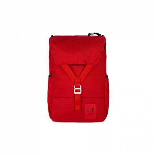 TOPO DESIGNS バッグ ユニセックス 【 Y-pack 】 Red/red