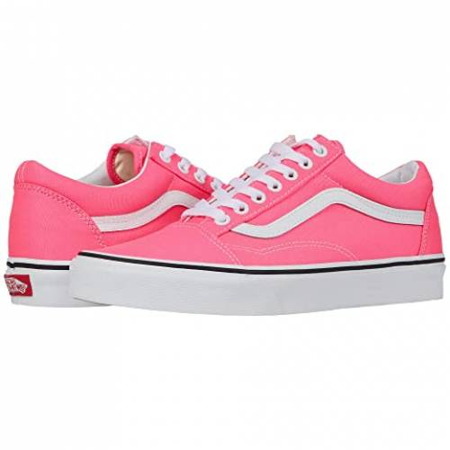 バンズ VANS Skool・・ スニーカー メンズ ユニセックス 【 Old Skool・・ 】 (neon) Knockout Pink/true White