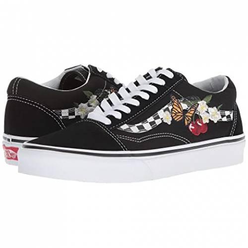 バンズ VANS Skool・・ スニーカー メンズ ユニセックス 【 Old Skool・・ 】 (checker Floral) Black